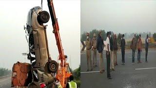Patancheruvu Road Par Khaufnak Sadak Hadesa Mein 6 Log Ki Mout | 3 Log Hue Zakhmi |@Sach News