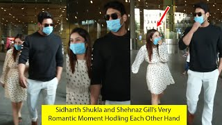 Sidharth Shukla and Shehnaz Gill's Very Cute Moment At Mumbai Airport | I HAVE A GIRLFRIEND AT HOME