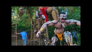 COVID-19 scare dim diwali; Narkasur effigies in final stages