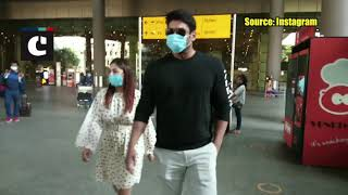 Shehnaaz Gill And Sidharth Shukla Spotted At Airport In This Stylish Look