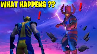 Fortnite Boss Galactus Meets Boss Wolverine (New Bosses, Mythic Weapons, Vault Locations & Keycard)