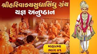 શ્રી HARIVAKYSUDHASINDHU યજ્ઞ અનુષ્ઠાન I Part-01 I Swami Nityaswarupdasji I Tirthdham Sardhar