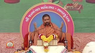 Janmangal mahotsav Savarkundla Day 6 AM    Satsangijivan Katha   
