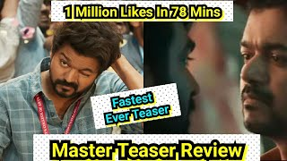 Master Teaser Review, Master Teaser Become Fastest Teaser To Touch 1 Million Likes In Less Than 2 Hr