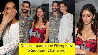 Deepika Padukone, Ananya Pandey At Siddhant Chaturvedi's House For Diwali Party | Bollywood Diwali