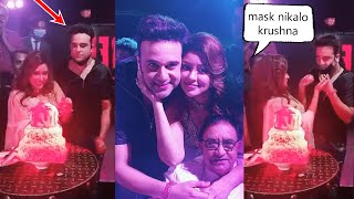 Payal Ghosh Happily Celebrated Her Birthday With Krushna Abhishek At Film Set