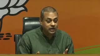 Media Briefing by BJP National Spokesperson Dr. Sambit Patra at BJP HQ, New Delhi
