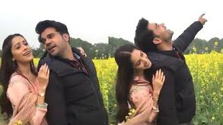 Rajkummar Rao & Nushrat Recreated Shahrukh Khan and Kajol's iconic scene from DDLJ