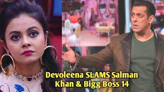Devoleena Bhattacharjee SLAMS Salman Khan & Bigg Boss 14