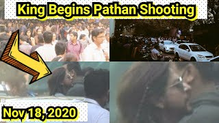 Breaking: Shah Rukh Khan Begins Pathan Shoot In Yash Raj Studios Mumbai, King Is Back After 3 Years