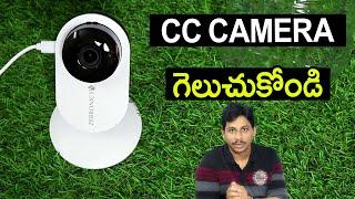 Zeb Smart Cam 100 Unboxing Telugu