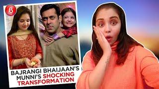 'Bajrangi Bhaijaan's Munni Aka Harshaali Malhotra SHOCKS Everyone With Her Amazing Transformation