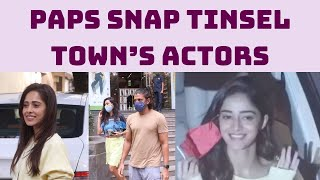 Paps Snap Tinsel Town's Actors In Mumbai | Catch News