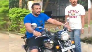 Darshan's new JAVA bike ride | Darshan bike ride video