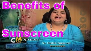 Skin Care Tips Benefits of using sunscreen throughout year tips by dermatologist सनस्क्रीन के फायदे