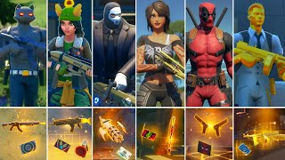 Fortnite All Bosses, Mythic Weapons, Vault Locations & Keycard! Fortnite Chapter 2 (Season 1 - 2)