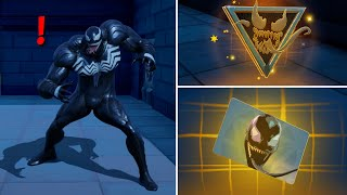 Fortnite All New Bosses, Mythic Weapons & Vault Locations, KeyCard Boss Venom in Season 4