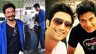 Sushant Singh Close Friend Mahesh Shetty Spotted For The First Time After SSR's Demise | At  Airport