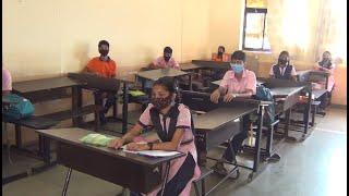 #BackToSchool | Schools reopen in Goa with COVID precautionary measures8