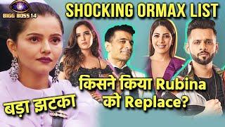 Bigg Boss 14 Shocking Top 5 Ormax List | Rubina Ko Kisne Kiya Replace? | NO. 1 Par Ab Kaun?