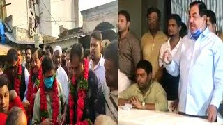 Mohd Ghouse Gets Grand Welcome By Public | Mumtaz Khan | Mohd Ghouse |@Sach News