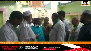 Shatripuram Aimim Candidate Mohd Mubeen on his election campaign..