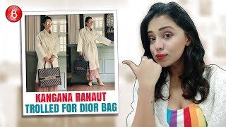 Kangana Ranaut Slammed By Trolls For Using Dior Bag & Not Supporting Vocal For Local
