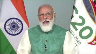 PM Modi's remarks at the 15th G20 Summit via video conferencing | PMO