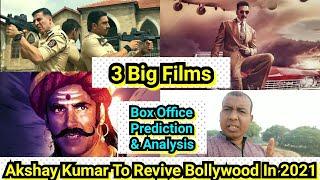 Akshay Kumar Can Revive Bollywood In 2021 With 3 Big Releases Sooryavanshi, Bell Bottom, Prithviraj