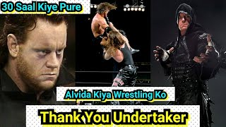 Thank You Undertaker For Making Our Childhood Memorable