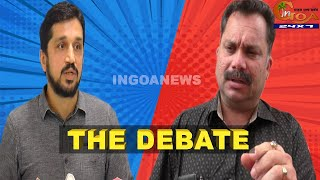ChallengeAccepted ! Here are all the details of Cabral Vs Valmiki debate scheduled for Wednesday
