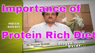 Diet Tips Importance of Protien Rich Diet according to Dietician प्रोटीन से भरे खाने के फायदे