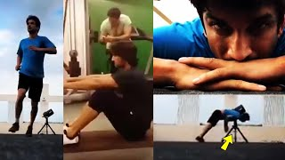 Sushant Singh Doing Incredible Aesthetic Workout Will Inspire You To Hit The Gym