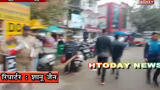 25 nov 15 सुजानपुर पुलिस पहाड़ी में बोल कर लोगों को कर रही जागरूक।