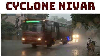 Cyclone Nivar: Rain Lashes Parts Of Chennai | Catch News