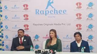 Bigg Boss Jasleen Matharu and Dharam Gupta Rapchee Originals press conference