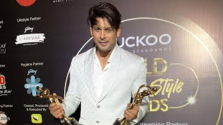 Sidharth Shukla Ne Jeete 2 Gold Awards 2020 | Style Icon of Television Industry And Social Media