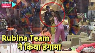 Bigg Boss 14: Team Rubina Ne Kiya Team Jasmin Ka Jeena Haram, Nahi Diye Blanket And Pillow