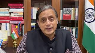 Ahmed ji's knowledge was great, his wisdom & his judgement were absolutely impeccable:Shashi Tharoor