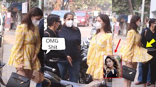 Bahubali 2 actress Tamanna Bhatia Oops Moment In Front Of Public While She Was With Her Friends
