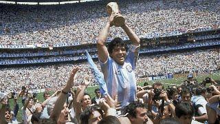 Tribute to Diego 'hand of God' Maradona: Goodbye, No.10