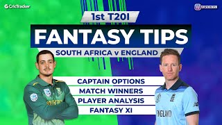 SA vs ENG 1st T20I Match 11Wickets Team, SA vs ENG Full Analysis, ENG Tour of SA 2020