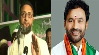 Asaduddin Owaisi Says Kishan Reddy To Resign |@Sach News