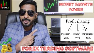 FOREX SOFTWARE TRADING SYSTEM || MONEY GROWTH POWER FOREX PROFITABLE SOFTWARE || 50% PROFIT