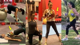 Bollywood Beauty Preity Zinta's Super Heavy Workout At an Age 45 Is Just Unbelievable