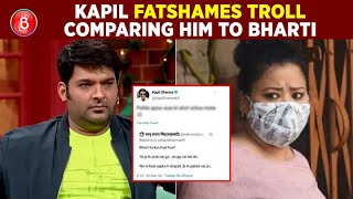 Kapil Sharma Trolls A Fan Who Threatened Him About Getting Arrested On Drugs Charges Like Bharti