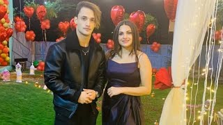 Asim Riaz Celebrates Girl Friend Himanshi Khurana's Birthday In Dubai
