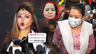 Shocking Reaction Of Rakhi Sawant On Bharti Singh Arrest For Consuming Drugs