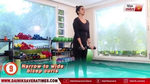 """Fit With Jen"" || DAY 19 || 4 Week Senior Fitness Challenge || @8AM Daily on Dainik Savera"