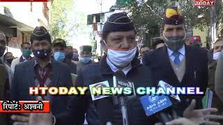 28 NOV 13  सुजानपुर विधानसभा क्षेत्र में पूर्व सैनिकों ने रैली निकालकर प्रर्दशन किया
